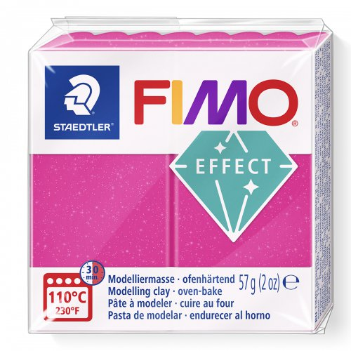 FIMO efekt rubín 57g