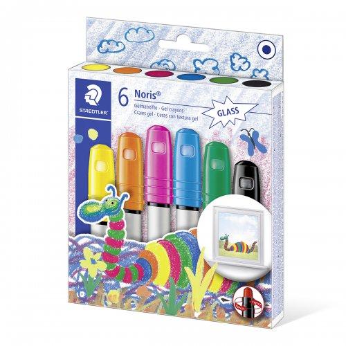 Gelové voskovky NORIS CLUB STAEDTLER 6 efektních barev