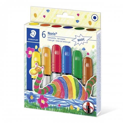 Gelové voskovky NORIS CLUB STAEDTLER 6 základních barev