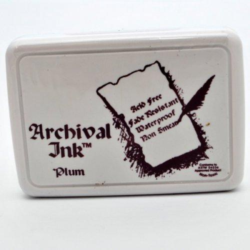 Archival inkoustová poduška -  Švěstková