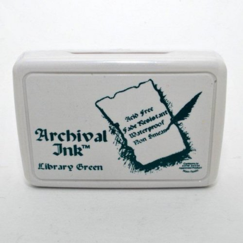 Archival inkoustová poduška - Tmavě zelená