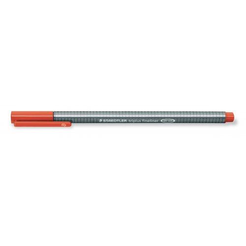 """Liner """"Triplus 334"""", červená, 0,3mm, STAEDTLER"""