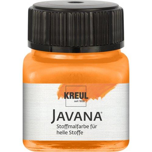Barva na světlý textil JAVANA 20 ml oranžová