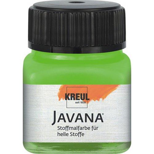 Barva na světlý textil JAVANA 20 ml májová zelená