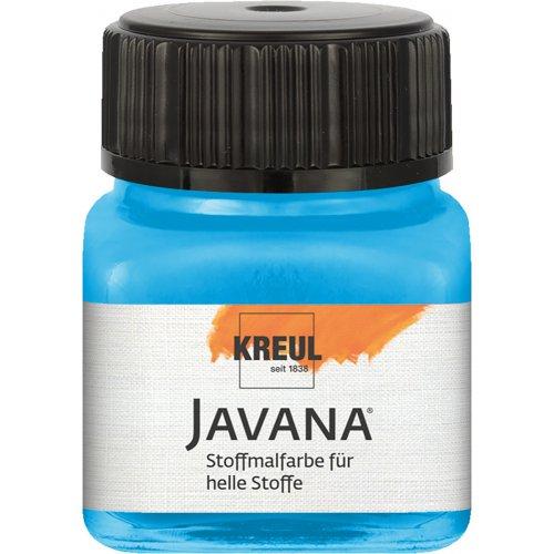 Barva na světlý textil JAVANA 20 ml azurová