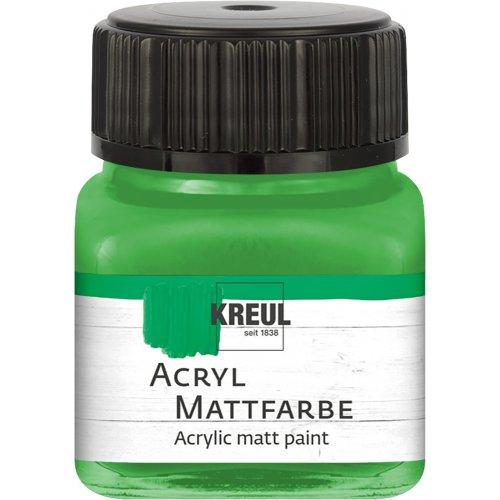 Akrylová barva matná KREUL 20 ml světle zelená