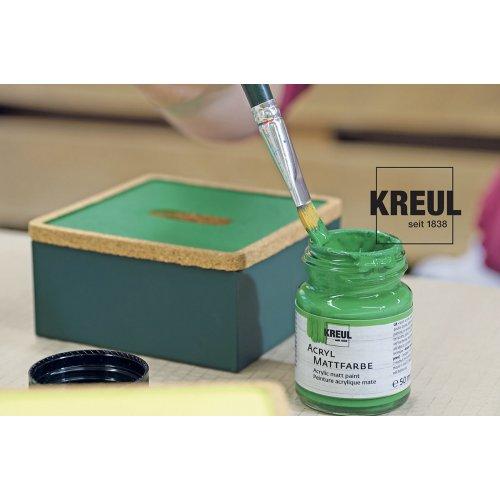Akrylová barva matná KREUL 20 ml olivová zelená - CK752 KREUL-image6.jpg