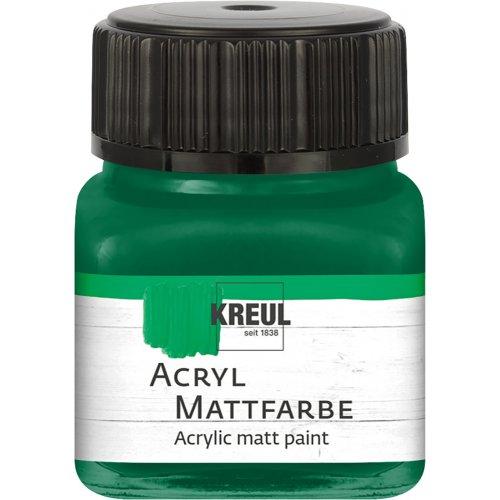 Akrylová barva matná KREUL 20 ml mechová zelená