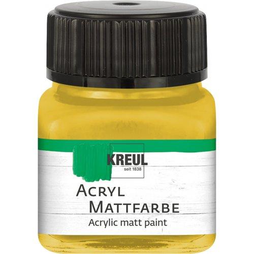 Akrylová barva matná KREUL 20 ml zlatá