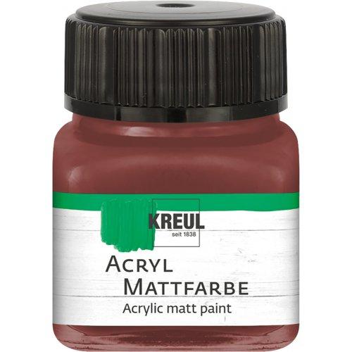 Akrylová barva matná KREUL 20 ml světle hnědá