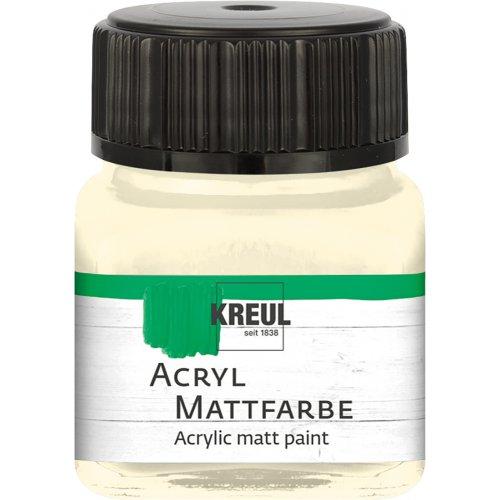 Akrylová barva matná KREUL 20 ml slonovinová