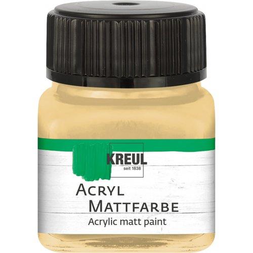 Akrylová barva matná KREUL 20 ml kapučíno