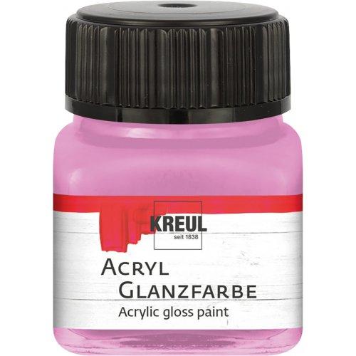 Akrylová barva lesklá KREUL 20 ml purpurová
