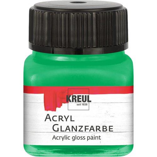 Akrylová barva lesklá KREUL 20 ml zelená