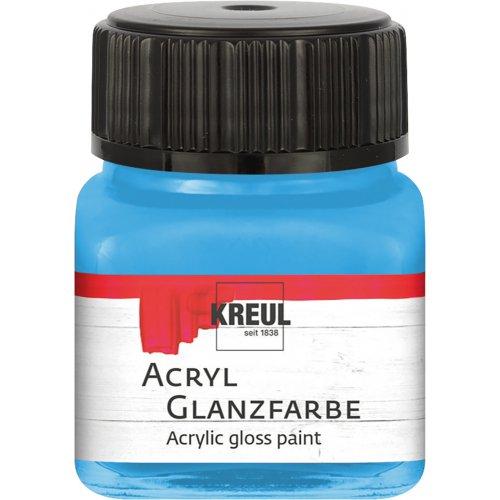 Akrylová barva lesklá KREUL 20 ml jemná modrá
