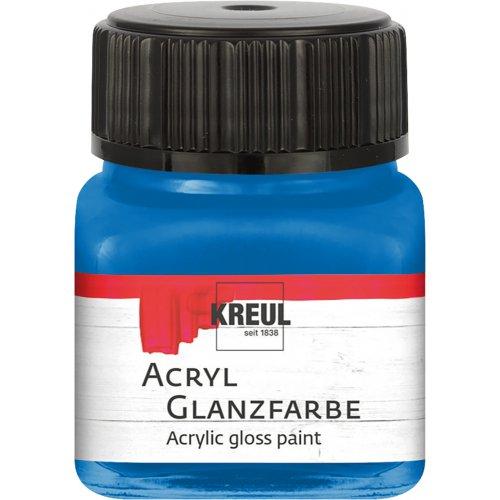 Akrylová barva lesklá KREUL 20 ml modrá