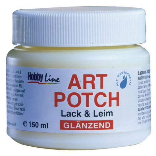 ART POTCH Lak & Lepidlo lesklý  HOBBY LINE 150 ml