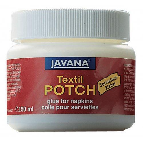Lepidlo na textil JAVANA TEXTIL POTCH 150 ml