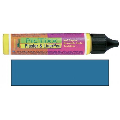 Plustrovací pero PicTixx Pluster & LinerPen 29 ml tmavě modrá