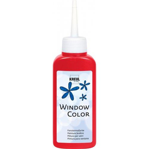 Barva na sklo WINDOW COLOR 80 ml třešňová červená
