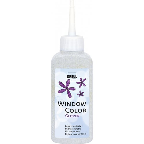 Barva na sklo WINDOW COLOR 80 ml třpytivá stříbrná