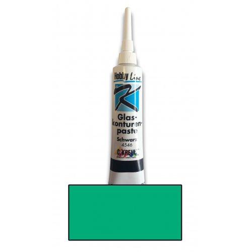 Kontura na sklo HOBBY LINE v tubě 20 ml zelená