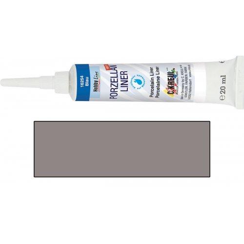 Kontura na porcelán KREUL stříbrná 20 ml