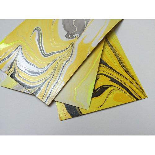 Mramorovací barva Magic Marble 20 ml bílá - 732_Magic_Marble_Marmorierfarbe_Papier2.jpg