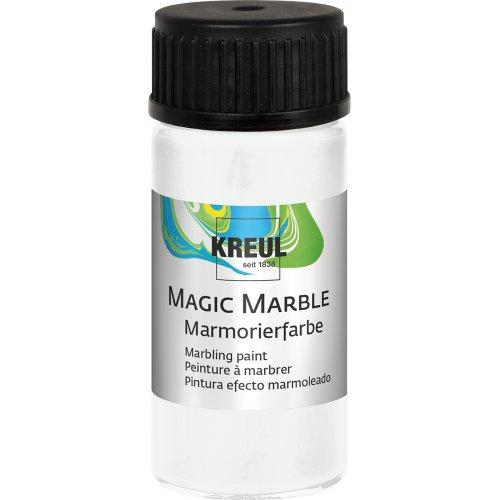 Mramorovací barva Magic Marble 20 ml bílá