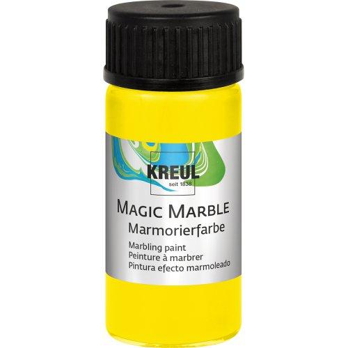 Mramorovací barva Magic Marble 20 ml citrónová