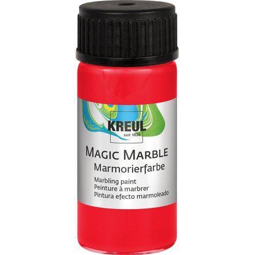 Mramorovací barva Magic Marble 20 ml červená