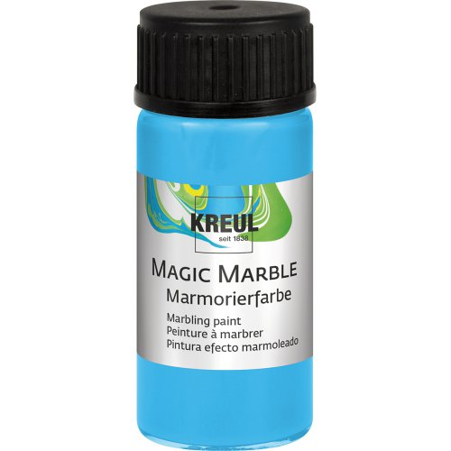 Mramorovací barva Magic Marble 20 ml světle modrá