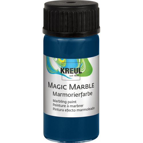 Mramorovací barva Magic Marble 20 ml tmavě modrá