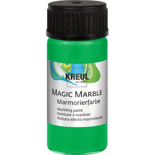 Mramorovací barva Magic Marble 20 ml světle zelená