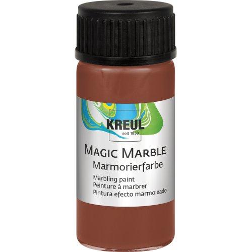 Mramorovací barva Magic Marble 20 ml hnědá