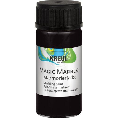 Mramorovací barva Magic Marble 20 ml černá