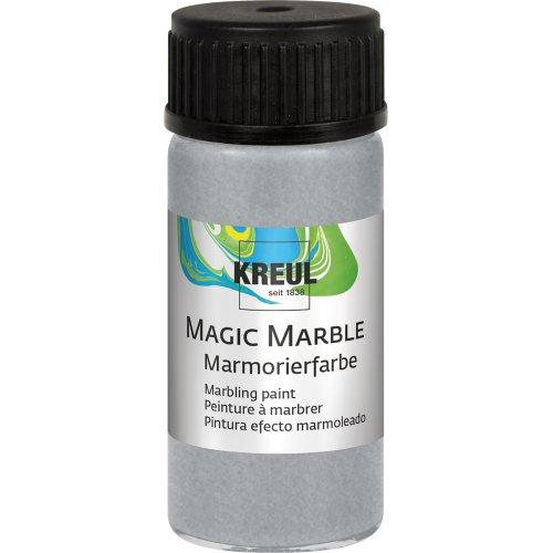 Mramorovací barva Magic Marble 20 ml stříbrná