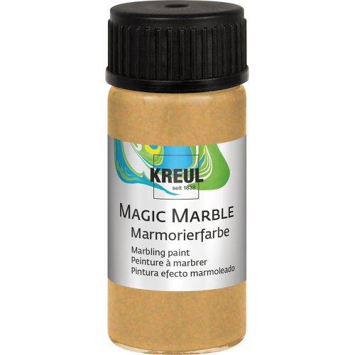 Mramorovací barva Magic Marble 20 ml zlatá