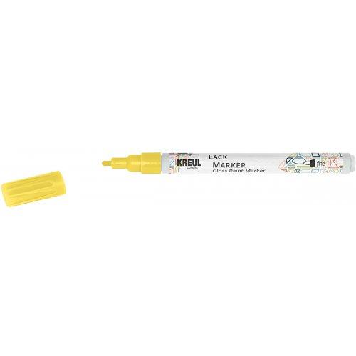 Lakový popisovač KREUL fine 1 - 2 mm žlutý