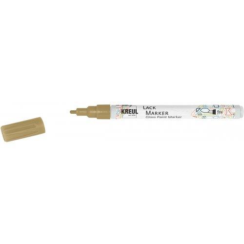 Lakový popisovač KREUL fine 1 - 2 mm zlatý