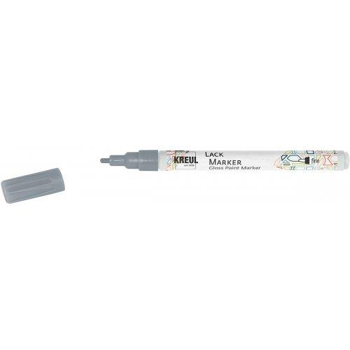 Lakový popisovač KREUL fine 1 - 2 mm stříbrný