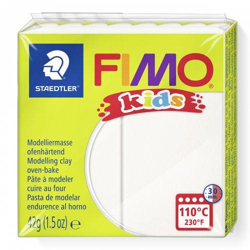 Fimo kids 42g - dětská modelovací hmota bílá
