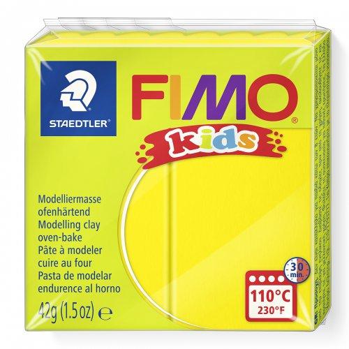 Fimo kids 42g - dětská modelovací hmota žlutá