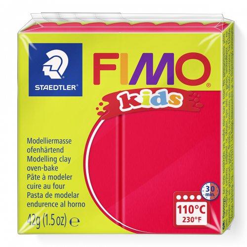 Fimo kids 42g - dětská modelovací hmota červená