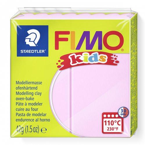 Fimo kids 42g - dětská modelovací hmota světle růžová