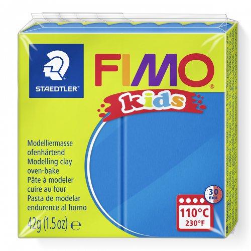 Fimo kids 42g - dětská modelovací hmota modrá