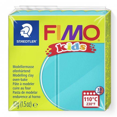 Fimo kids 42g - dětská modelovací hmota tyrkysová