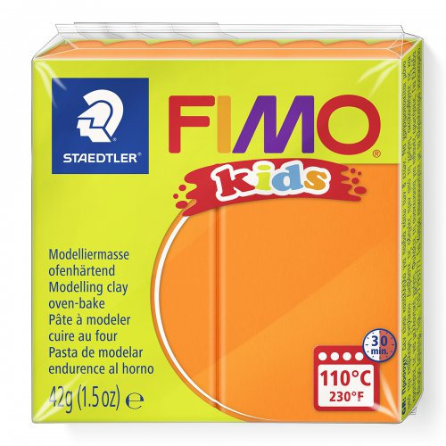 Fimo kids 42g - dětská modelovací hmota oranžová
