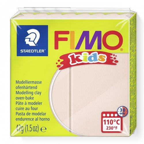 Fimo kids 42g - dětská modelovací hmota béžová