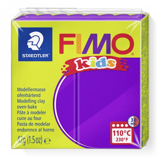 Fimo kids 42g - dětská modelovací hmota fialová
